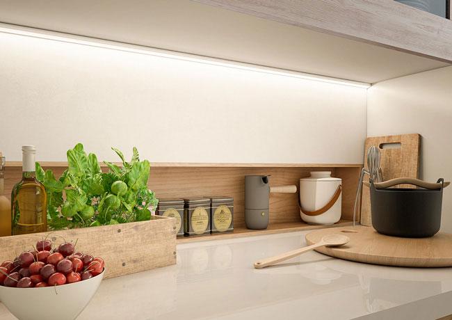 Iluminacion muebles de cocina madrid