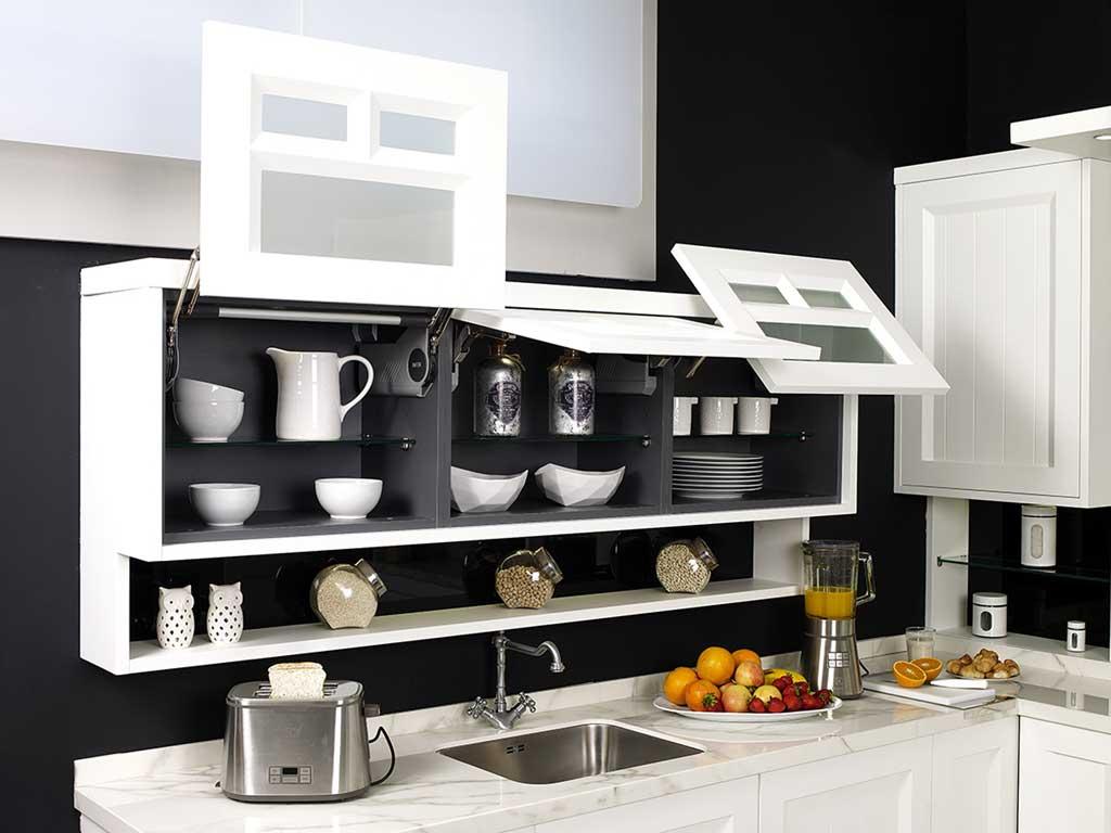 Sistemas de apertura de cocinas