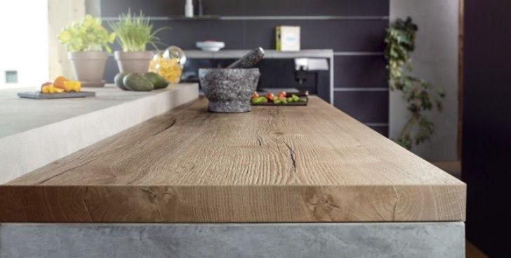 Encimeras de cocina de madera - Alonso y Sal
